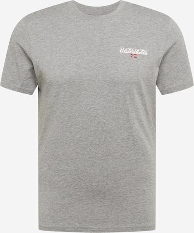 NAPAPIJRI T-Shirt 'S-ICE' en gris chiné, Vue avec produit