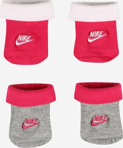 Șosete 'FUTURA' Nike Sportswear pe gri / roz / alb, Vizualizare produs