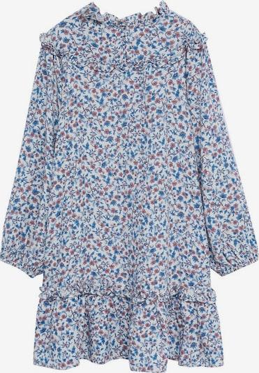 MANGO KIDS Kleid 'Kiran' in blau / rot / weißmeliert, Produktansicht