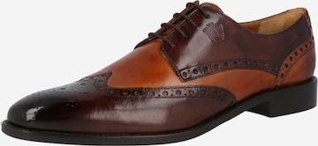 MELVIN & HAMILTON Обувки с връзки 'Martin' в кафяво