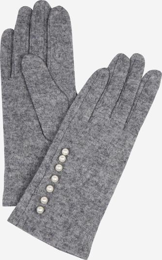 NÜMPH Fingerhandschuhe in graumeliert, Produktansicht