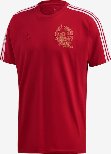 ADIDAS PERFORMANCE T-Shirt 'FC Arsenal' in rot / weiß: Frontalansicht