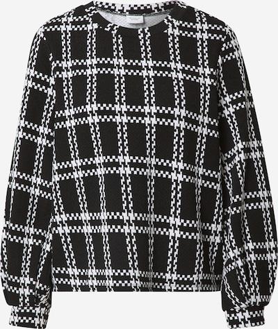 JACQUELINE de YONG Shirt 'Dover' in schwarz / weiß, Produktansicht