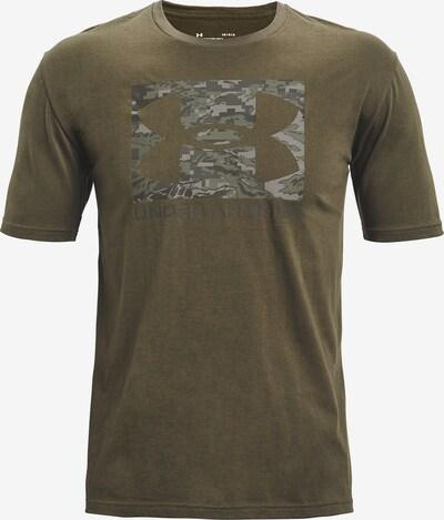 UNDER ARMOUR Functioneel shirt ' ABC ' in de kleur Olijfgroen: Vooraanzicht