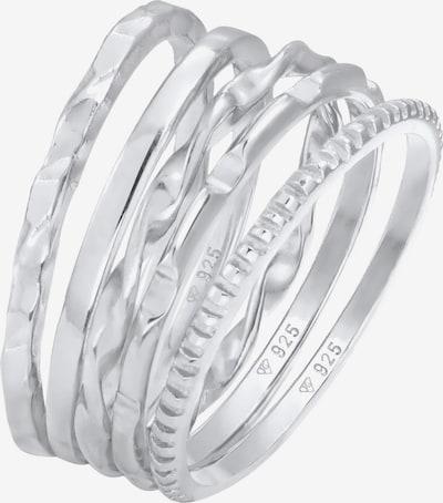 ELLI Parure de bijoux 'Set' en argent, Vue avec produit
