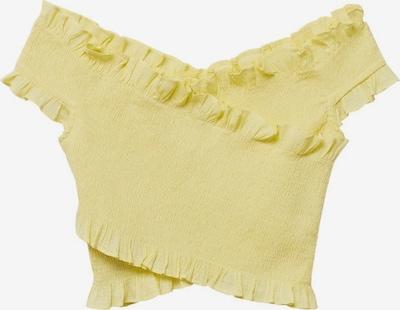 MANGO Top in gelb, Produktansicht