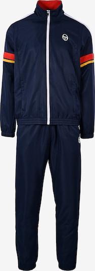 Sergio Tacchini Trainingsanzug 'Cryo' in navy / rot, Produktansicht