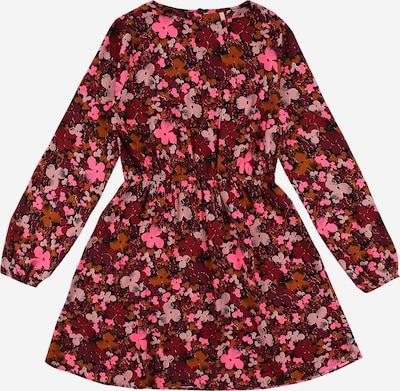 KIDS ONLY Kleid 'MAGGIE' in pink / hellrot / schwarz, Produktansicht