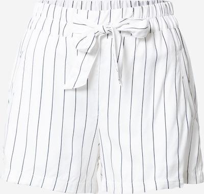 Tally Weijl Pantalon en bleu nuit / blanc, Vue avec produit