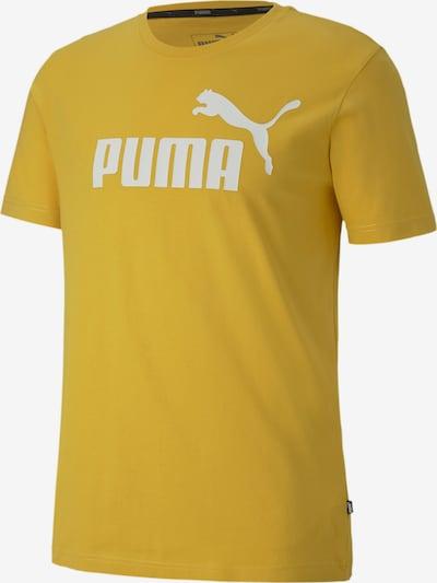 PUMA Shirt in de kleur Geel, Productweergave