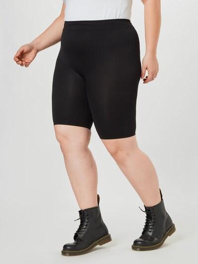 fekete Zizzi Leggings, Modell nézet