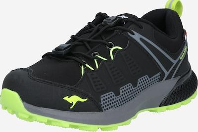 KangaROOS Sneaker 'K-Surve' in graumeliert / neongrün / schwarz, Produktansicht