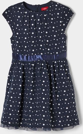 s.Oliver Festliches Kleid in dunkelblau, Produktansicht