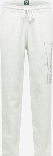 HOLLISTER Hose in silbergrau / graumeliert, Produktansicht