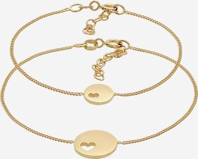ELLI Armband Herz, Mutter und Kind in gold, Produktansicht