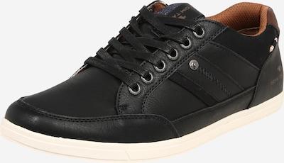 TOM TAILOR Športni čevlji z vezalkami | črna barva, Prikaz izdelka