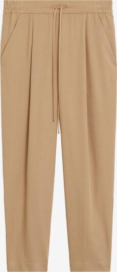 Pantaloni cu dungă 'FLUIDO' MANGO pe maro, Vizualizare produs
