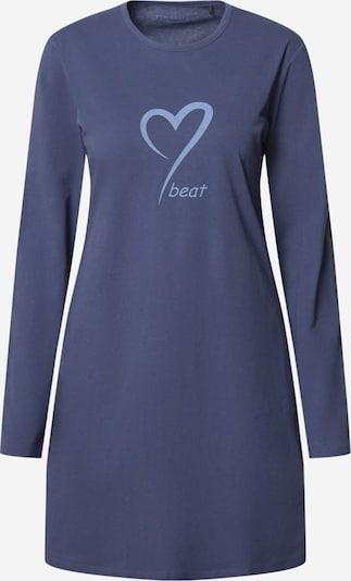 SCHIESSER Noční košilka - chladná modrá / světlemodrá, Produkt