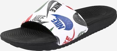 NIKE Cipele za plažu/kupanje 'Kawa SE JDI' u plava / crvena / crna / bijela, Pregled proizvoda