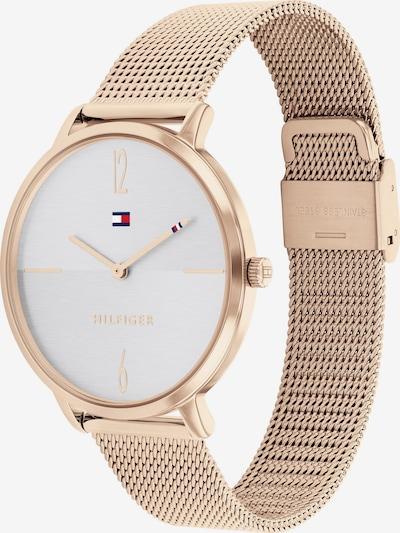 Analoginis (įprasto dizaino) laikrodis iš TOMMY HILFIGER, spalva – tamsiai mėlyna / Auksas / raudona / balta, Prekių apžvalga
