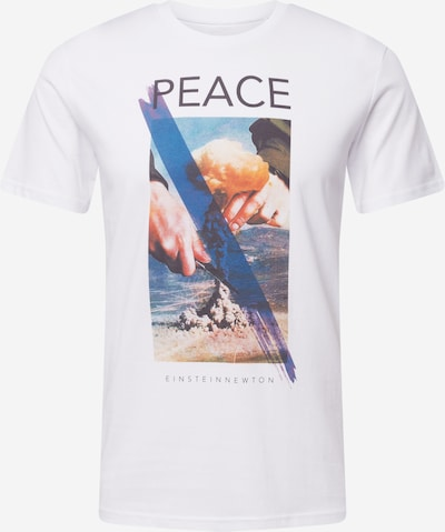 Tricou EINSTEIN & NEWTON pe albastru / mai multe culori / negru / alb, Vizualizare produs