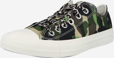 Sneaker low 'CHUCK TAYLOR ALL STAR' CONVERSE pe bej / verde / kaki, Vizualizare produs