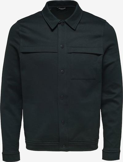 SELECTED HOMME Overgangsjakke i sort, Produktvisning