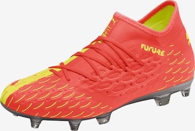 PUMA Fußballschuh in gelb / knallrot, Produktansicht