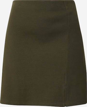 ABOUT YOU Spódnica 'Alexis' w kolorze zielony