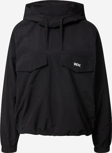 WOOD WOOD Shirt 'Emily' in de kleur Zwart, Productweergave