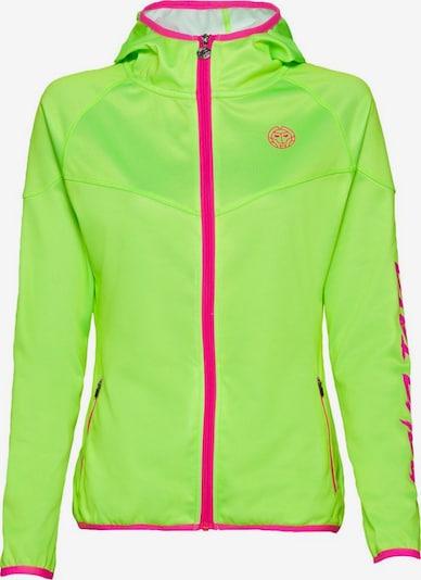 BIDI BADU Jacke 'Grace' in neongrün / pink, Produktansicht