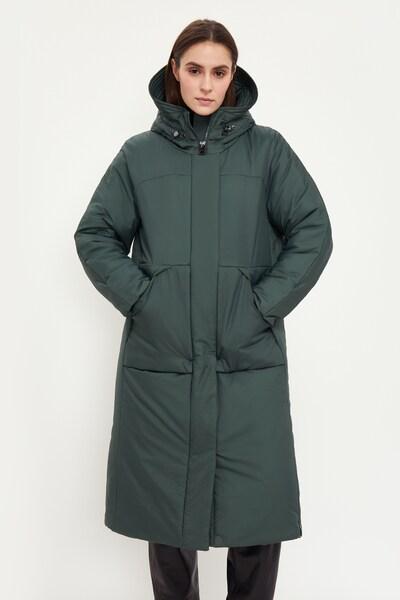 Finn Flare Freizeitmantel in dunkelgrün, Modelansicht