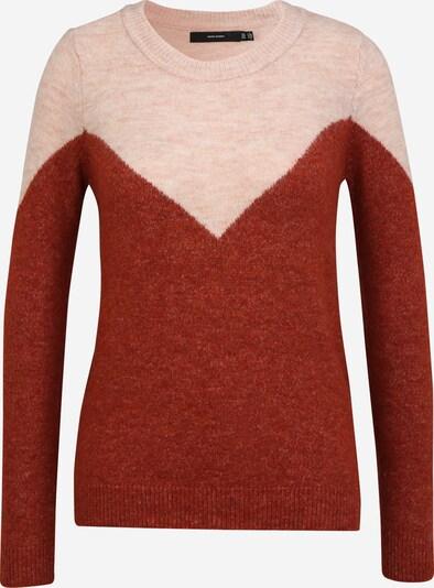 Vero Moda Petite Sweater 'PLAZA' in Pink / Rusty red, Item view
