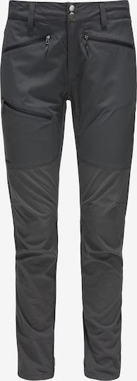 Haglöfs Pantalon outdoor 'Lite Flex' en anthracite, Vue avec produit