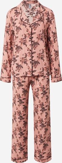 LingaDore Pyjamas i brun / gammalrosa, Produktvy