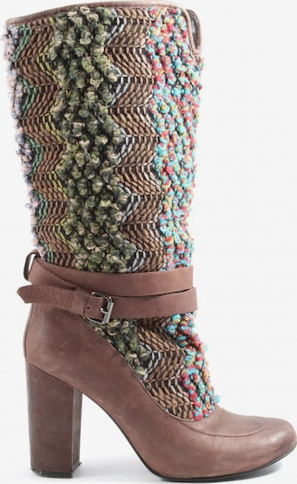 UNBEKANNT Dress Boots in 37 in Blue / Brown / Green, Item view
