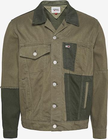 Tommy Jeans Jacke in Grün