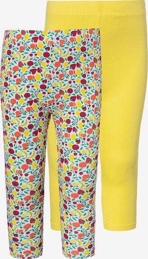 Leggings LEMON BERET pe galben / mai multe culori / alb, Vizualizare produs