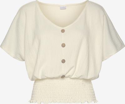 LASCANA Shirt in creme, Produktansicht
