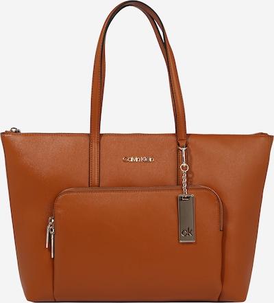 Calvin Klein Shopper torba 'SAFFIANO' u karamela, Pregled proizvoda