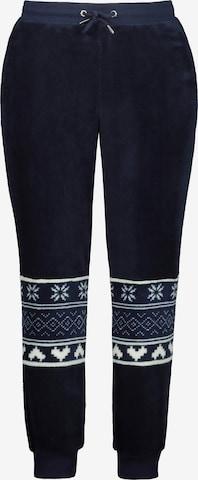 Pantalon Ulla Popken en bleu