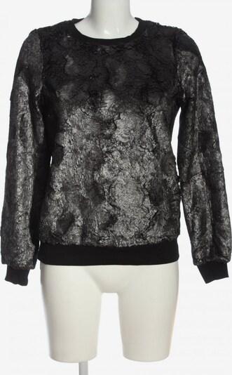 Noisy may Sweatshirt in XS in schwarz / silber, Produktansicht