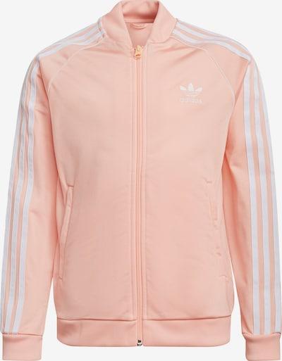 ADIDAS ORIGINALS Jacke in rosa / weiß, Produktansicht