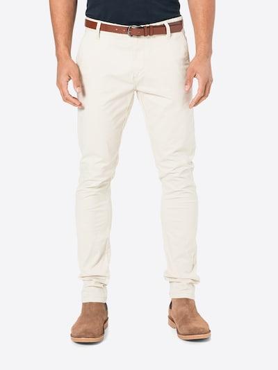 INDICODE JEANS Панталон Chino 'GOWER' в бяло, Преглед на модела
