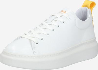 PAVEMENT Baskets basses 'Dee' en jaune / blanc, Vue avec produit