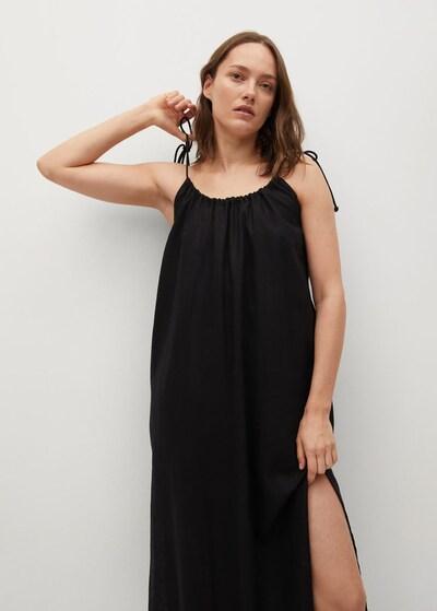 MANGO Kleid 'Melon' in schwarz, Modelansicht