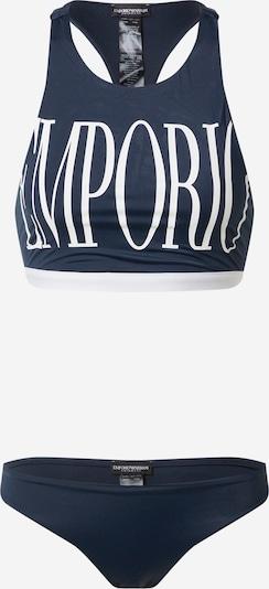 Bikini Emporio Armani di colore navy / bianco, Visualizzazione prodotti