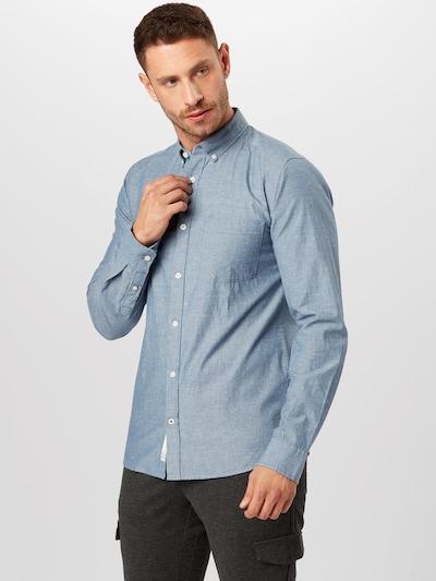Dalykiniai marškiniai 'EMILIO' iš Only & Sons , spalva - tamsiai (džinso) mėlyna: Vaizdas iš priekio