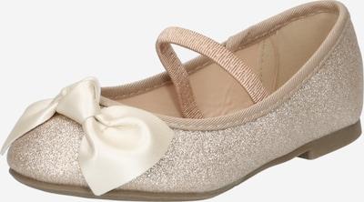 OVS Ballerines en bronze / blanc perle, Vue avec produit
