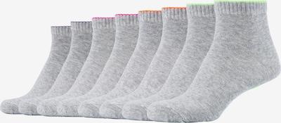 SKECHERS Kurzsocken Las Vegas im 8er-Pack in grau / mischfarben, Produktansicht